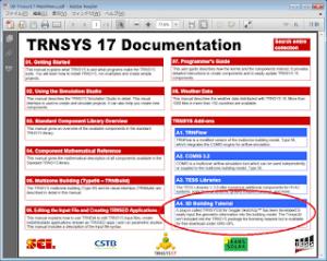 TRNSYS17 Documentation