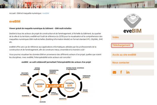 eveBIMのサイト