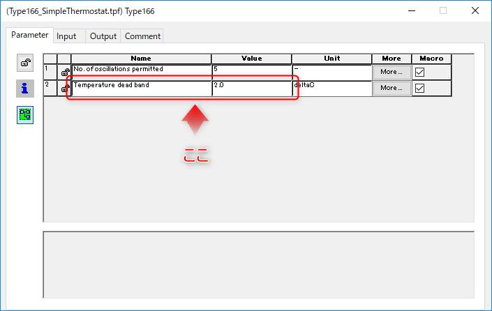 Type166 Parameters