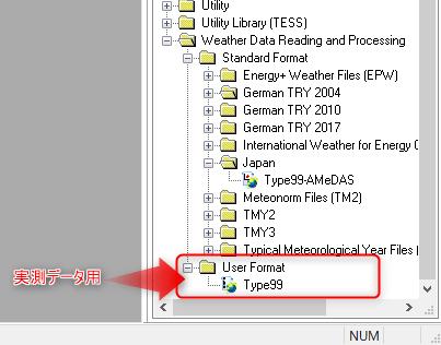 User Format Type99
