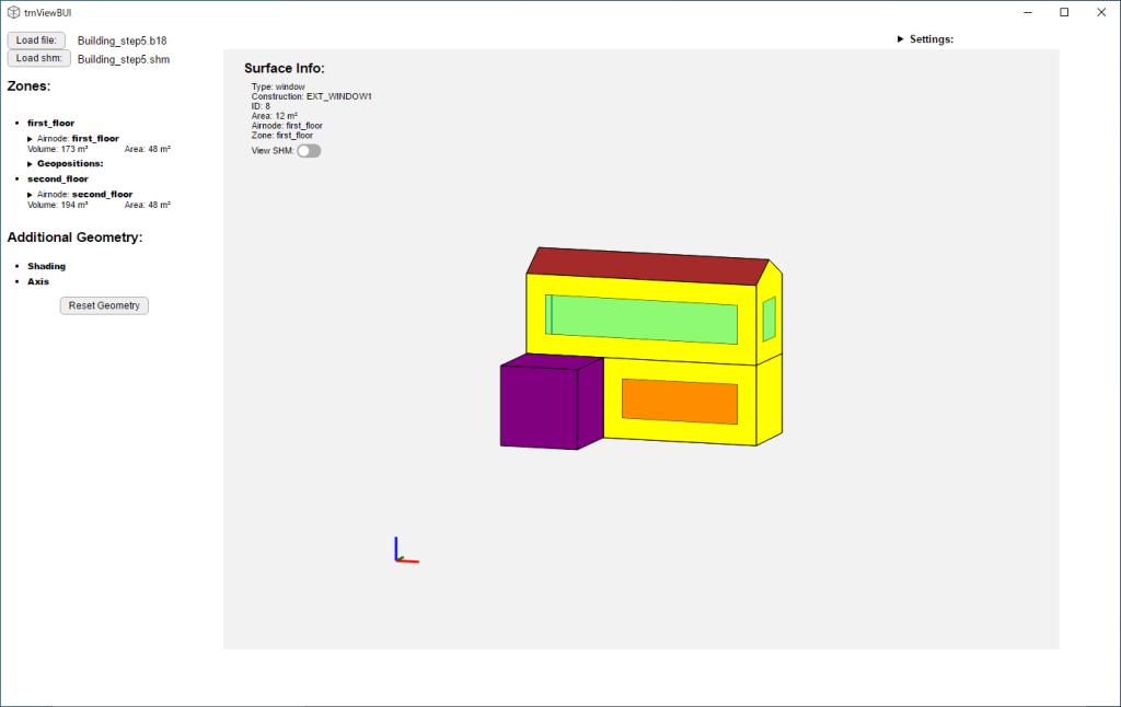 trnViewBUI で建物モデルを表示