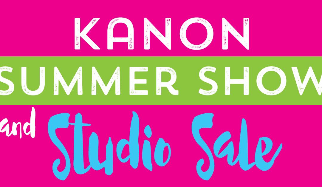 Kanon Summer Show & Studio Sale