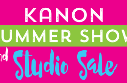 Kanon Summer Show & Studio Sale