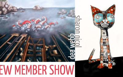 New Member Show: Dea Webb and Sharon Nicol