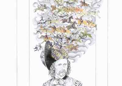 Custer's Last Dream by Jeanne Trueax
