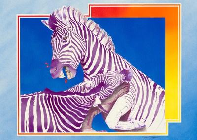 Vampire Zebras by Jeanne Trueax