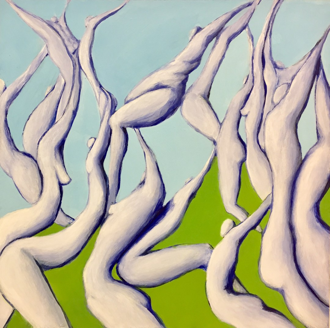 like irises in springtime, by Melissa Shawnee