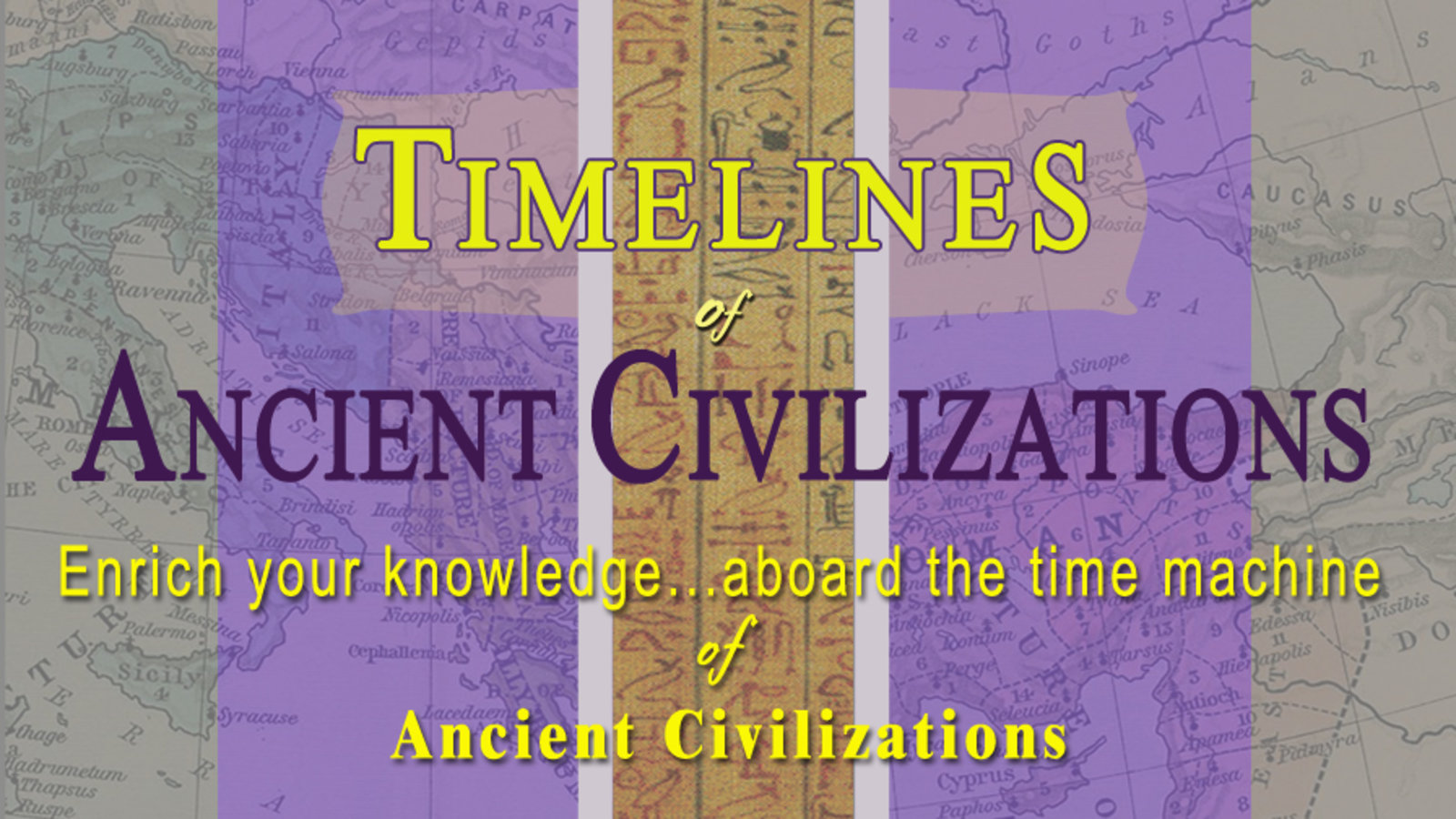 Timelines Of Ancient Civilizations Series