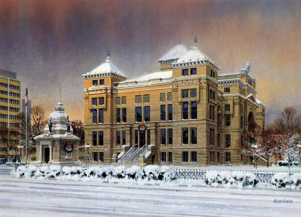 Wichita Artists Winter Scenes On Cards Help Independent