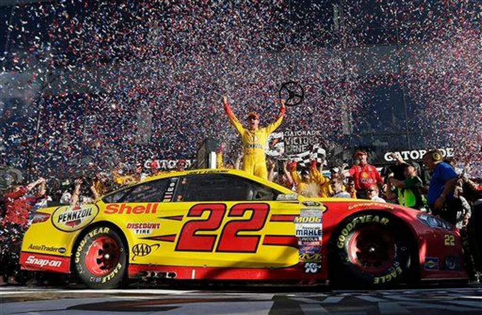 Image result for joey logano daytona 500