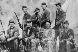 Early Kansas Militia