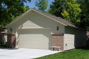 Custom Lap Sided Garage In Marion Ks Kansas Outdoor