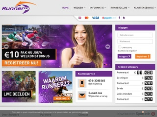 Runnerz.nl Screenshot