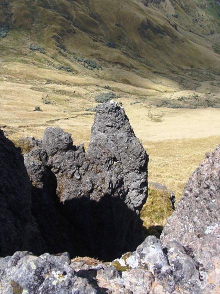 Puntas montaña cordillera central
