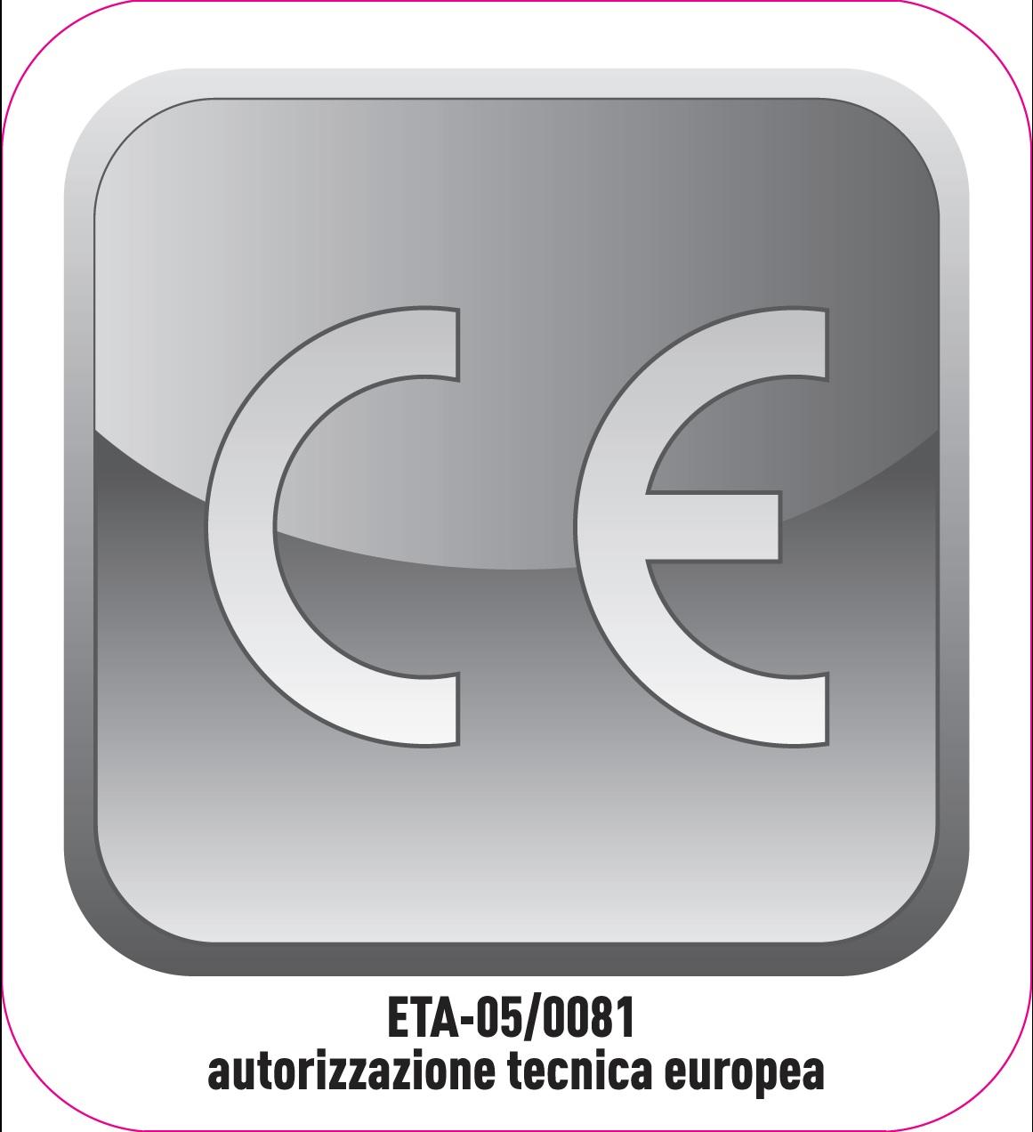 Treppen haben eine CE/ETA Zertifizierung.