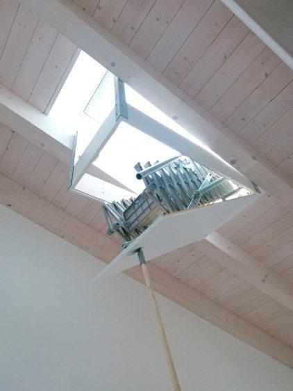 Dachtreppe - Spezialausführung