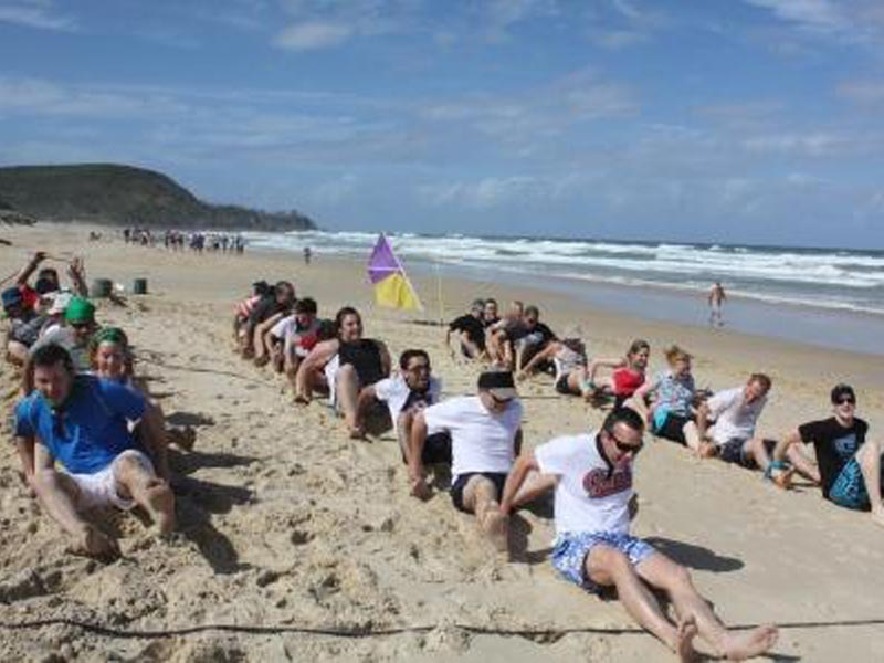 Corporate team building activities on the Sunshine Coast