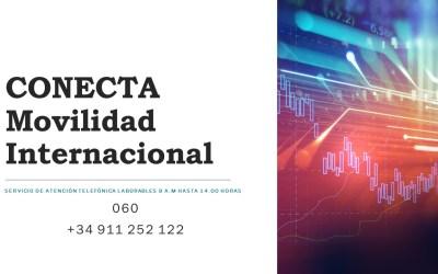ATENCIÓN TELEFÓNICA CONECTA MOVILIDAD INTERNACIONAL