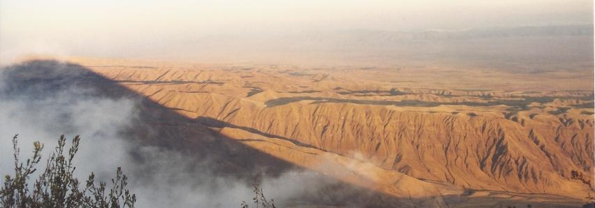 a Tanzania Trekking Safari - from the top of Ol Doinyo Lengai
