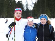 Kader 2016 - und auch auf dem Ski schnell unterwegs