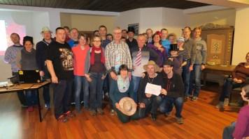 KVL-Mitglieder in Achenkirch