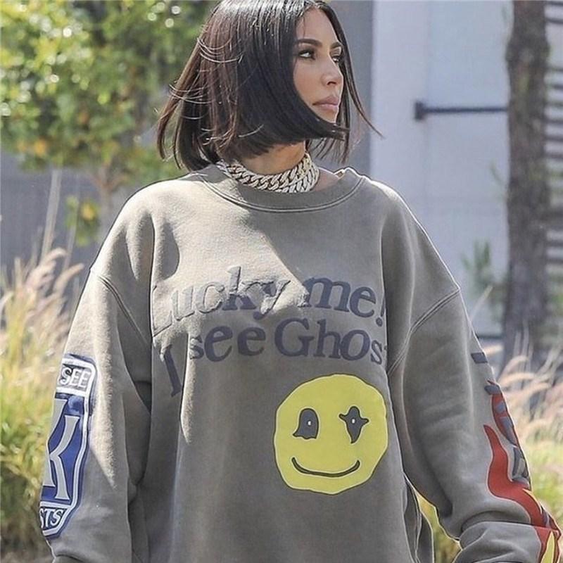 Kanye Lucky me I See Ghosts Crewneck Sweatshirt