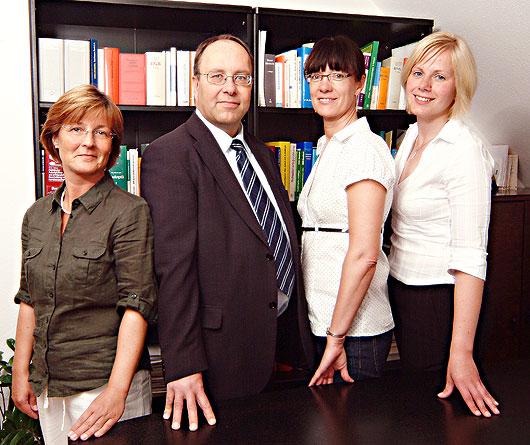 Team der Kanzlei Behm in Schwedt/Oder