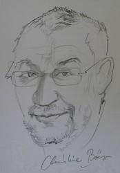 Carsten Hoenig, gezeichnet vom www.christine-boer.de