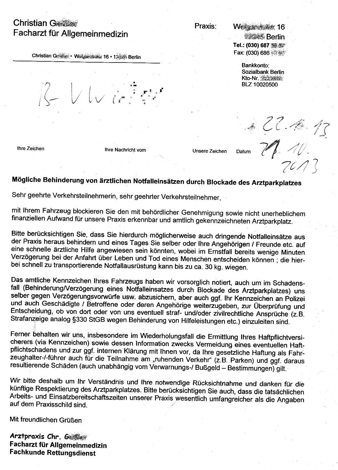 Sonderrechte Für Medizinmänner Ordnungswidrigkeitenrecht Kanzlei