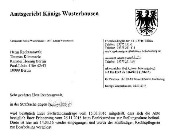 AG Königswusterhausen