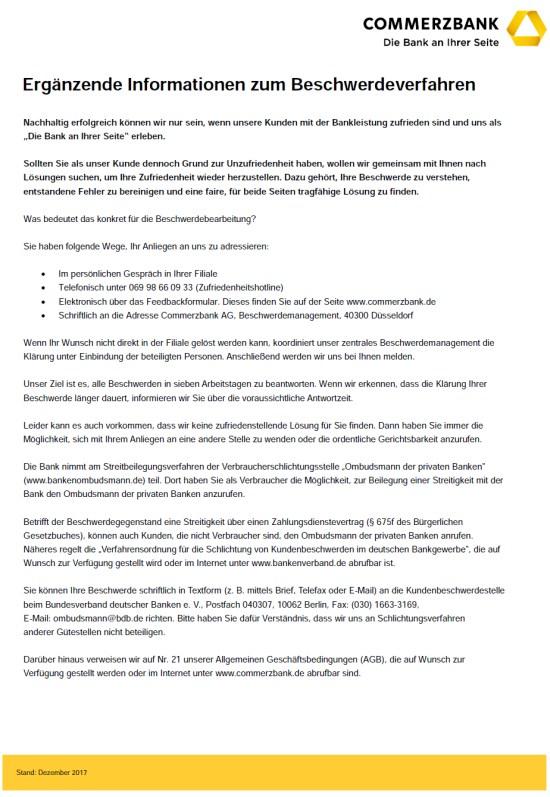 Die Commerzbank Und Das Beschwerdeverfahren Strafrecht Kanzlei Hoenig Info Strafverteidiger In Kreuzberg Kanzlei Hoenig Berlin Fachanwalte Fur Strafrecht