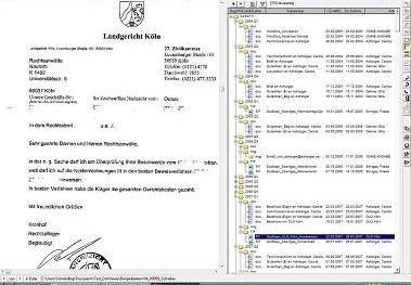 Elektronische Akte / Dokumentenmanagement - Dokumenten-Viewer + dynamische Baumstruktur - DMS, Dokumentenmanagement, Dokumentenworkflow, Archiv