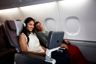 Premium Economy Seats - Photo from Qantas
