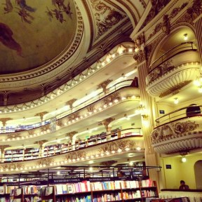 El Ateneo Grand Splendid Bookshop, Buenos Aires - Kapcha The World