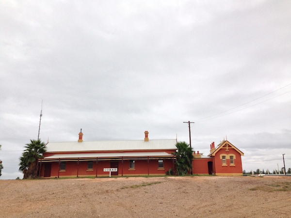 The old Cobar Railway Station