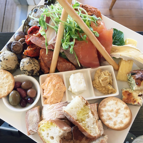 Lunch platter - Girls weekend in the Yarra Valley