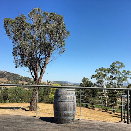 View over the valley - Girls weekend in the Yarra Valley
