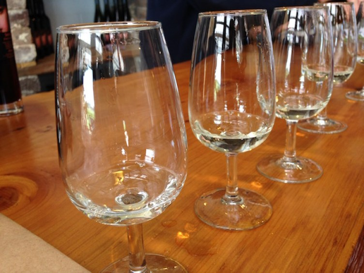 Wine tasting at Borrodell Vineyard, Orange Wine Tours