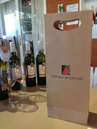 Orange Mountain Wines, Orange Wine Tours