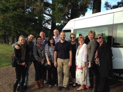 Group of people, Orange Wine Tours