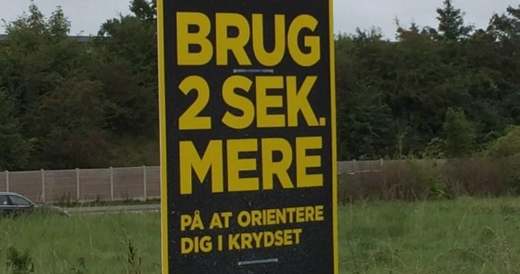 Schilder an Dänemarks Straßen #28