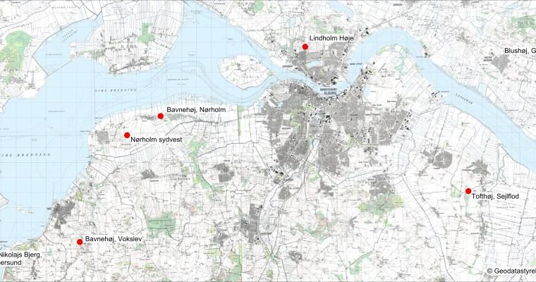 Signalfeuer der Wikingerzeit  in Nordjütland