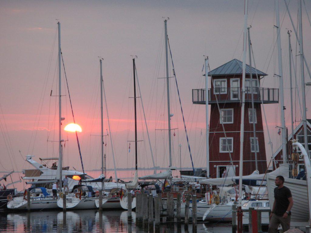 Bagenkop Havn solnedgang Bagenkop Hafen Sonnenuntergang - Langeland_