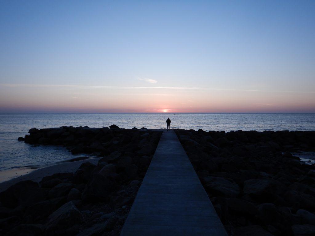 Solnedgang Lønstrup