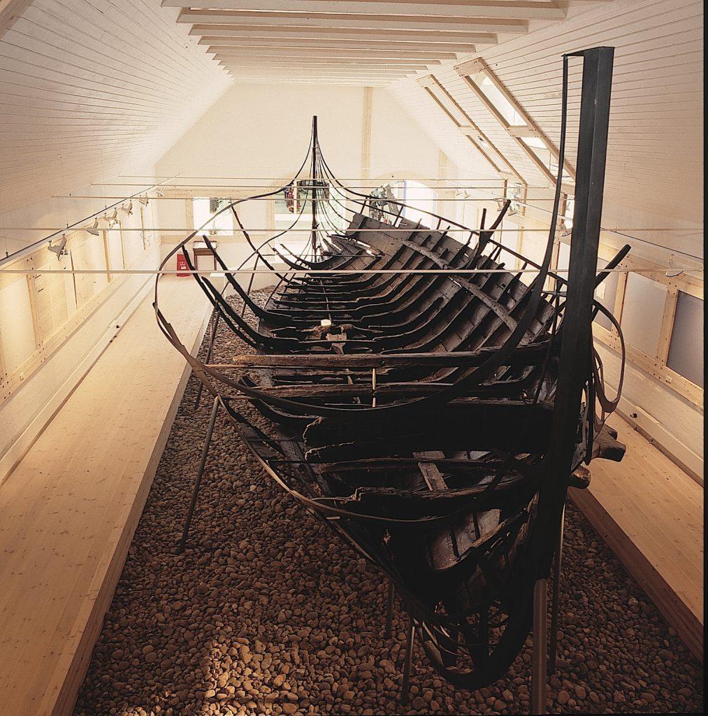Ellingå-Schiff in der Seefahrtsausstellung