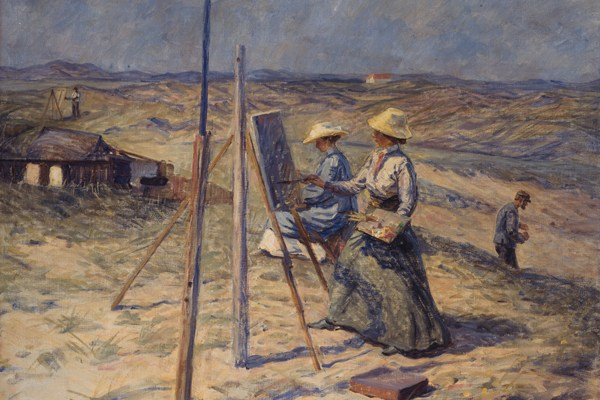 Bild des Monats – Malerinder på Skagen