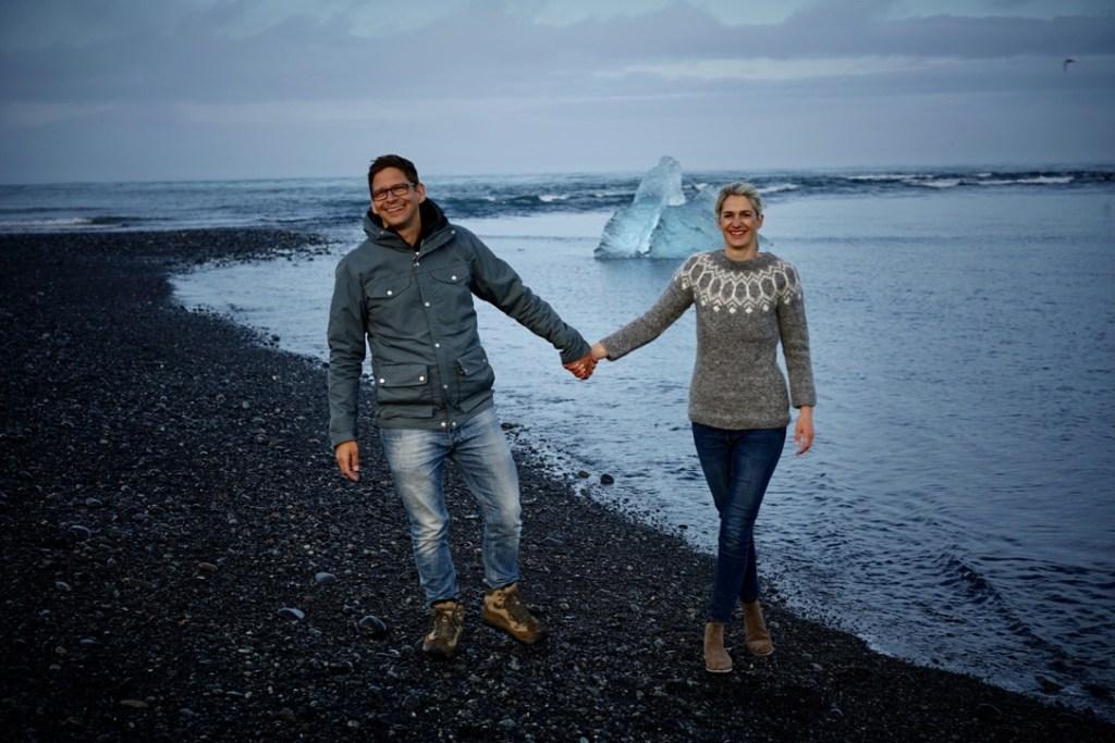 Anna und Michael von Saltylove auf Island
