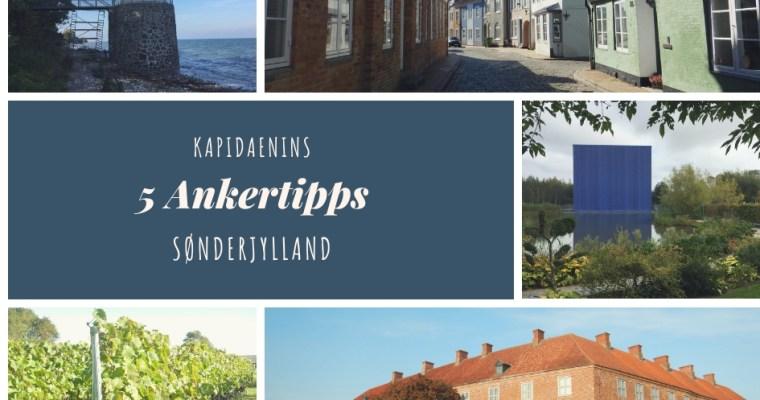 Kapidaenins 5 Ankertipps Sønderjylland