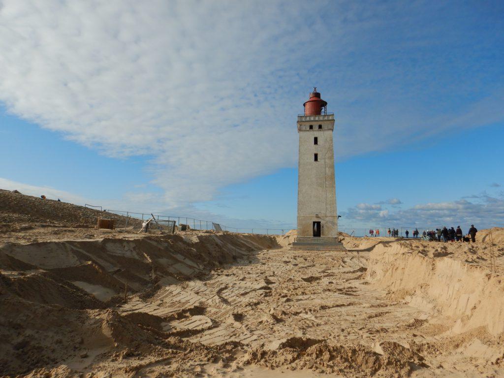 Der Weg für Rubjerg Knude Fyr wird frei geschaufelt (c) Sibille Fuhrken