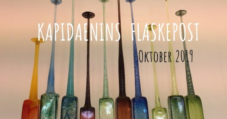 Kapidaenins Flaskepost Oktober